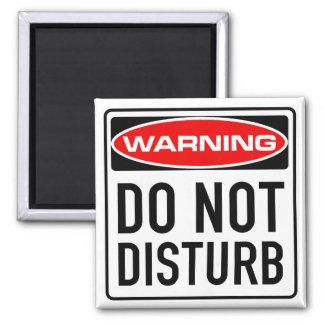 Do Not Disturb Funny Warning Road Sign Fridge Magnets