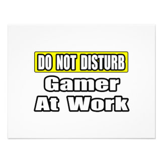 Do Not Disturb Game At Work Custom Announcements