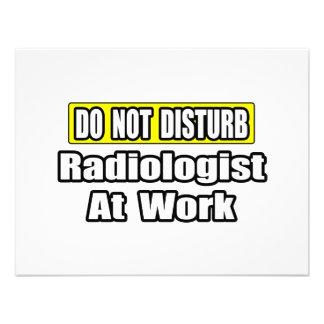Do Not Disturb Radiologist At Work Invitations