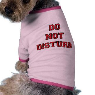 Do Not Disturb Ringer Dog Shirt