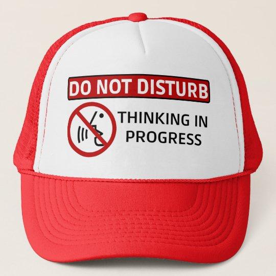 DO NOT DISTURB: Thinking in Progress (Red Hat)