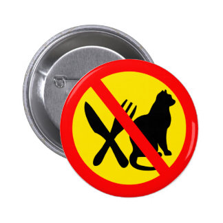 DO NOT EAT CATS PIN
