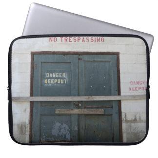 Do Not Enter Lap Top Cover Computer Sleeve