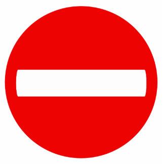 Do Not Enter Sign (Photo Sculpture) Standing Photo Sculpture