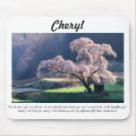 Do Not Fear ~ Cherry Blossom (Multiple Products Mouse Pad