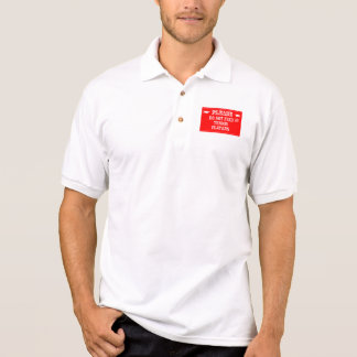 Do Not Feed The Tennis Players Polo Shirt