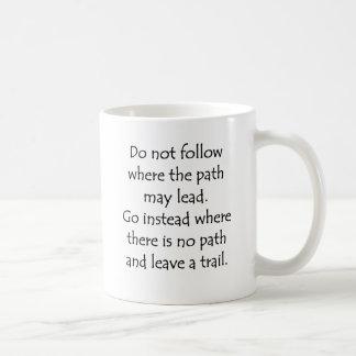Do Not Follow Mugs