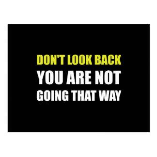 Do Not Look Back Postcard