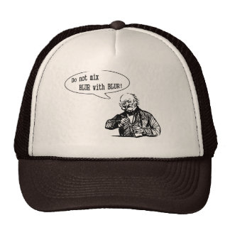 Do Not Mix BLUR with BLUR Mesh Hats