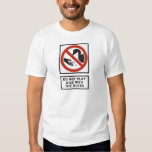 Do Not Play Dice with the Ducks Highway Sign T Shirt
