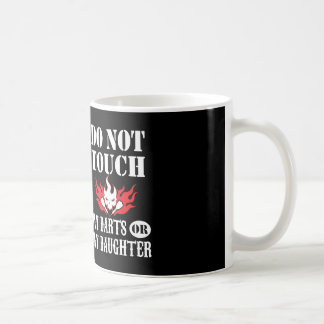 Do Not Touch My Darts Or My Daughter Mug