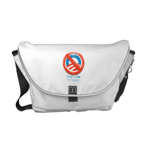 Do not vote for hype Faded.png Messenger Bag