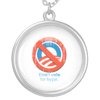 Do not vote for hype Faded.png Personalized Necklace