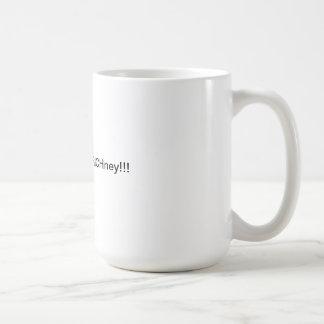 Do not vote for RICHney!!! Basic White Mug