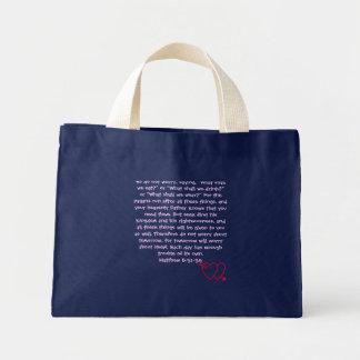 Do not worry - mini tote bag