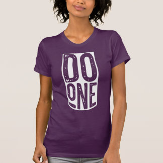 """""""Do One"""" Funny Mancunian Dialect T-Shirt"""