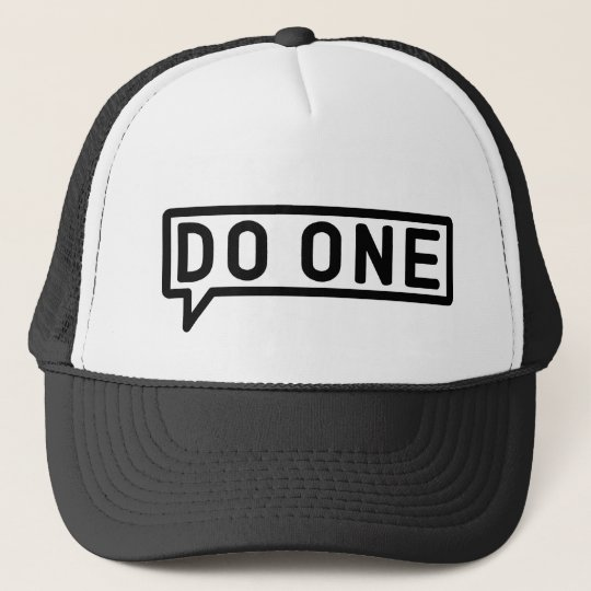 Do One, Manchester Mancunian Slang Trucker Hat