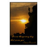 Do one thing every day that scares you poster