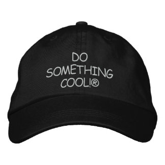 DO SOMETHING COOL! CAP EMBROIDERED CAP