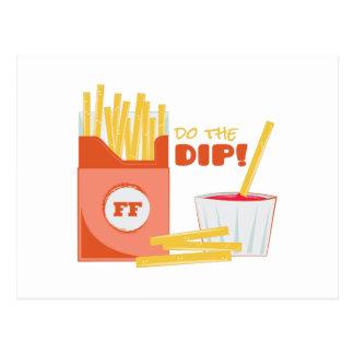 Do The Dip Postcard
