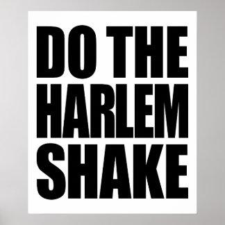 Do The Harlem Shake Poster