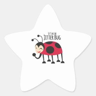 Do the Jitter Bug Star Sticker
