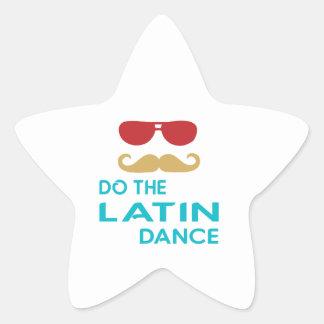 Do the Latin Dance Star Sticker