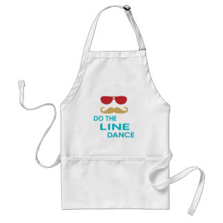 Do the Line Dance Aprons