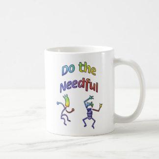 Do The Needful 3 Coffee Mug