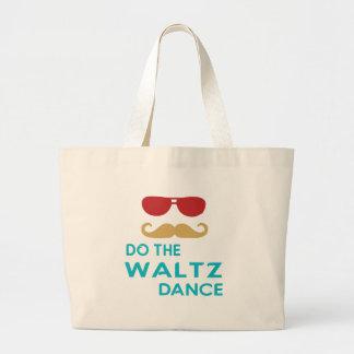 Do the Waltz Dance Canvas Bag