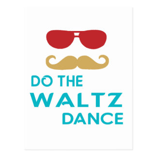 Do the Waltz Dance Post Cards