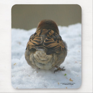 """Do these feathers make my butt look big?"" Mouse Pad"