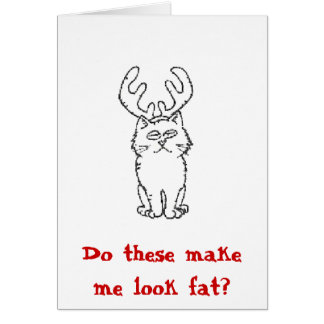 Do these make me look fat? card