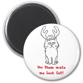 Do these make me look fat? magnet