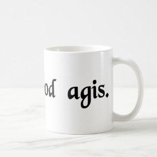 Do what you do well basic white mug
