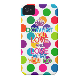 Do What You Love Love What You Do iPhone 4 Case
