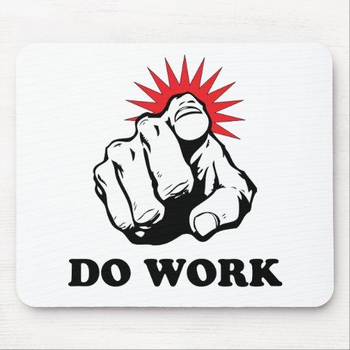 Do Work Mouse Mat