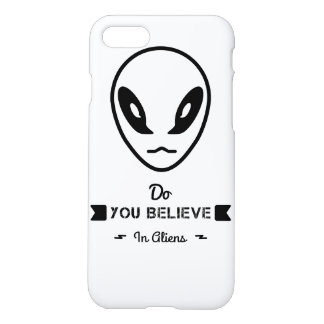 do you believe in aliens? iPhone 8/7 case