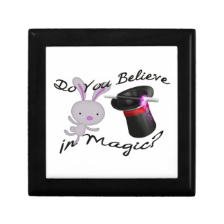 Do You Believe In Magic Top Hat & Rabbit Gift Box