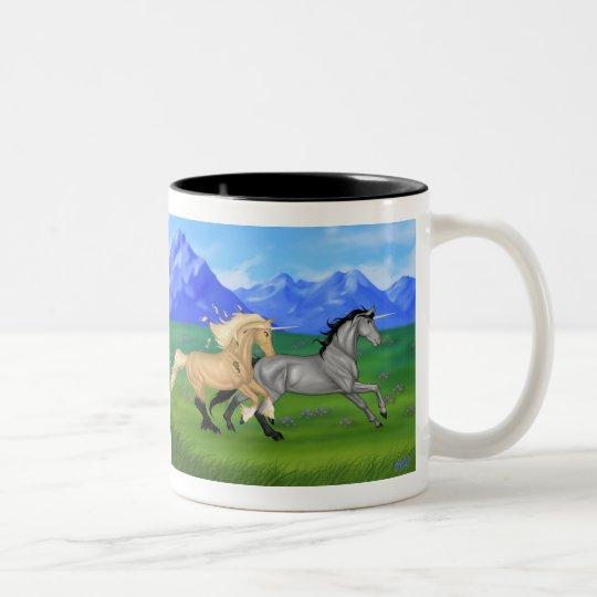 Do you believe in magic? Two-Tone coffee mug