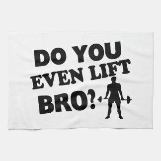 Do You Even Lift Bro? Tea Towel