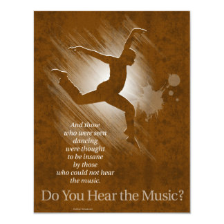 Do You Hear The Music? Card