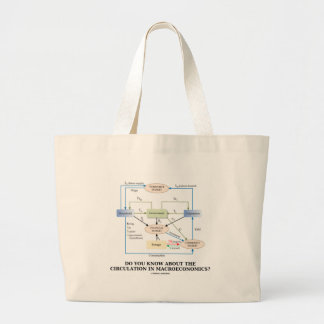 Do You Know About Circulation In Macroeconomics? Jumbo Tote Bag