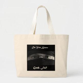Do You Know Geek Fu? Jumbo Tote Bag