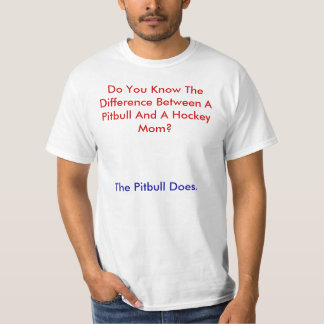Do You Know The Difference Between A Pitbull An... T-Shirt