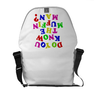 Do you know the Muffin Man? Commuter Bag