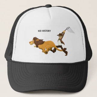 """Do You Know What Lions I Hunted?"" Trucker Hat"
