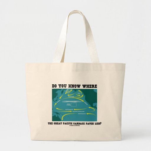 Do You Know Where Great Pacific Garbage Patch Lies Tote Bags