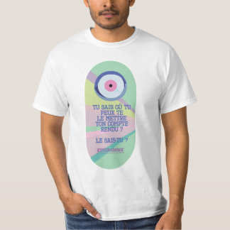 Do you know where you can put it your report? T-Shirt