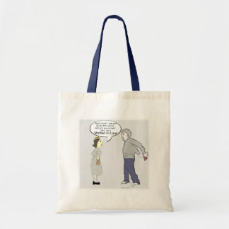 Do you know who you're talking to? budget tote bag